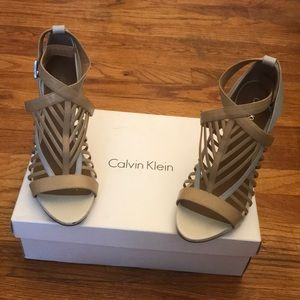 Calvin Klein shoes; worn once